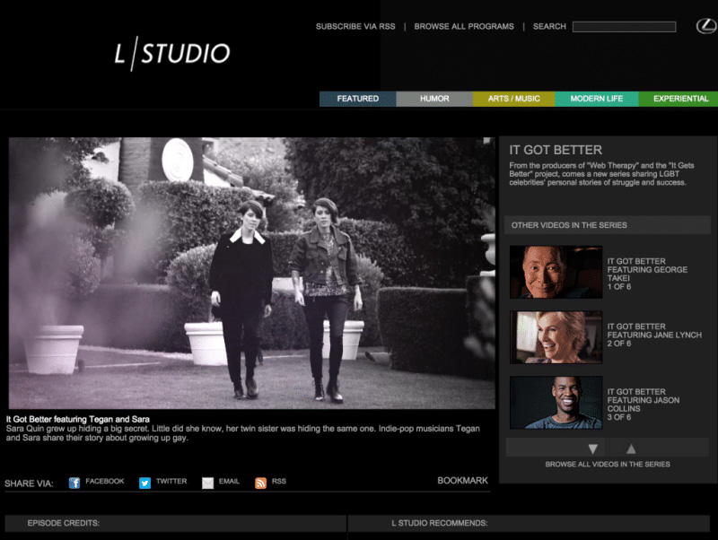 L Studio as an example for Storytelling in the Automotive Industry