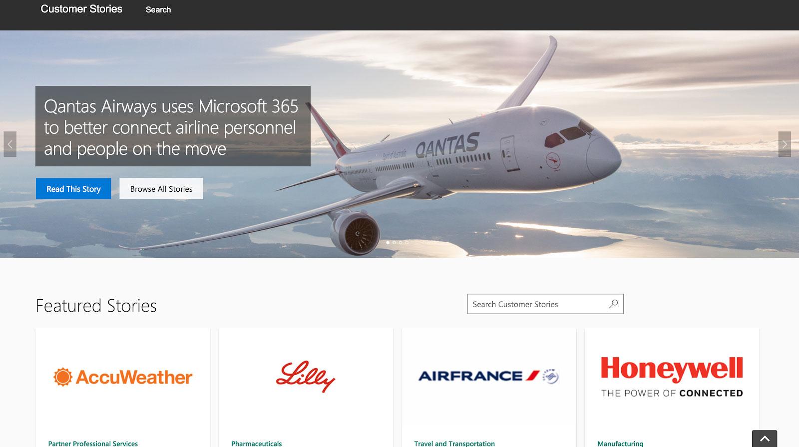 Quantas Airways Omnichannel Marketing Storytelling Example