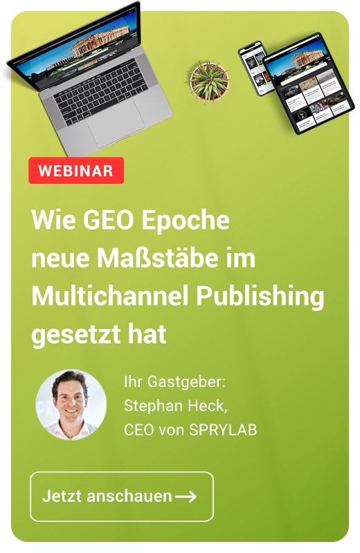 GEO Epoche Multichannel Publishing Webinar