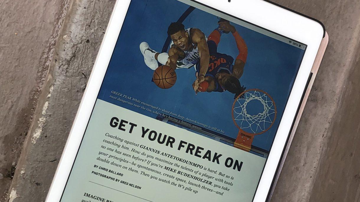 Apple News Plus Magazine Look