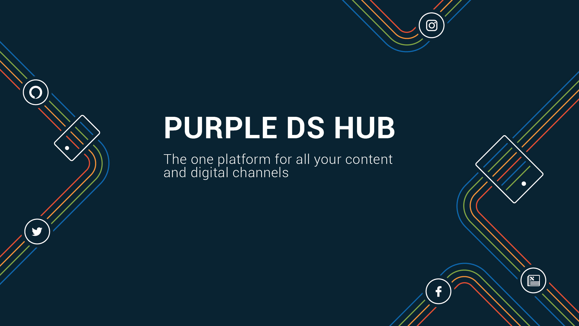 Purple DS HUB for Publishers