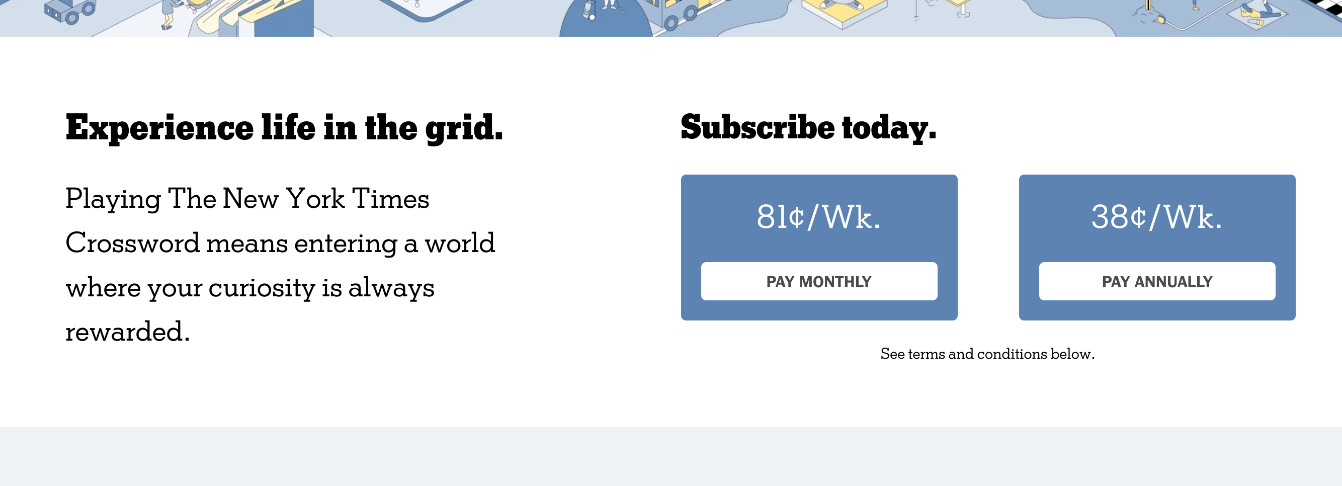 New York Times personalised crossword subscription