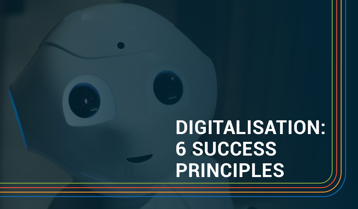 Digitalisation: 6 principles for publishers