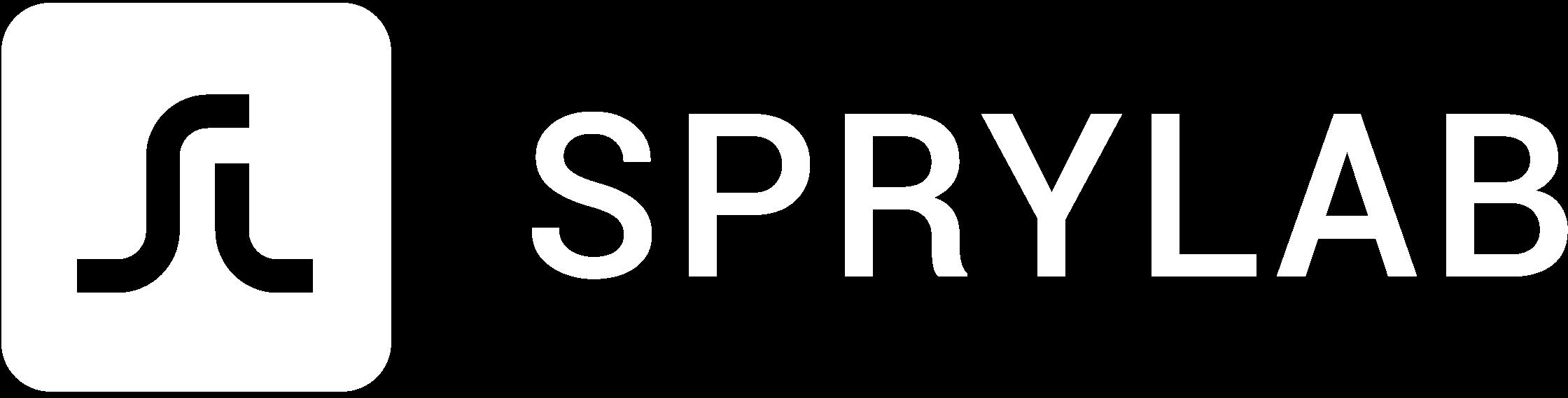 Sprylab Logo white