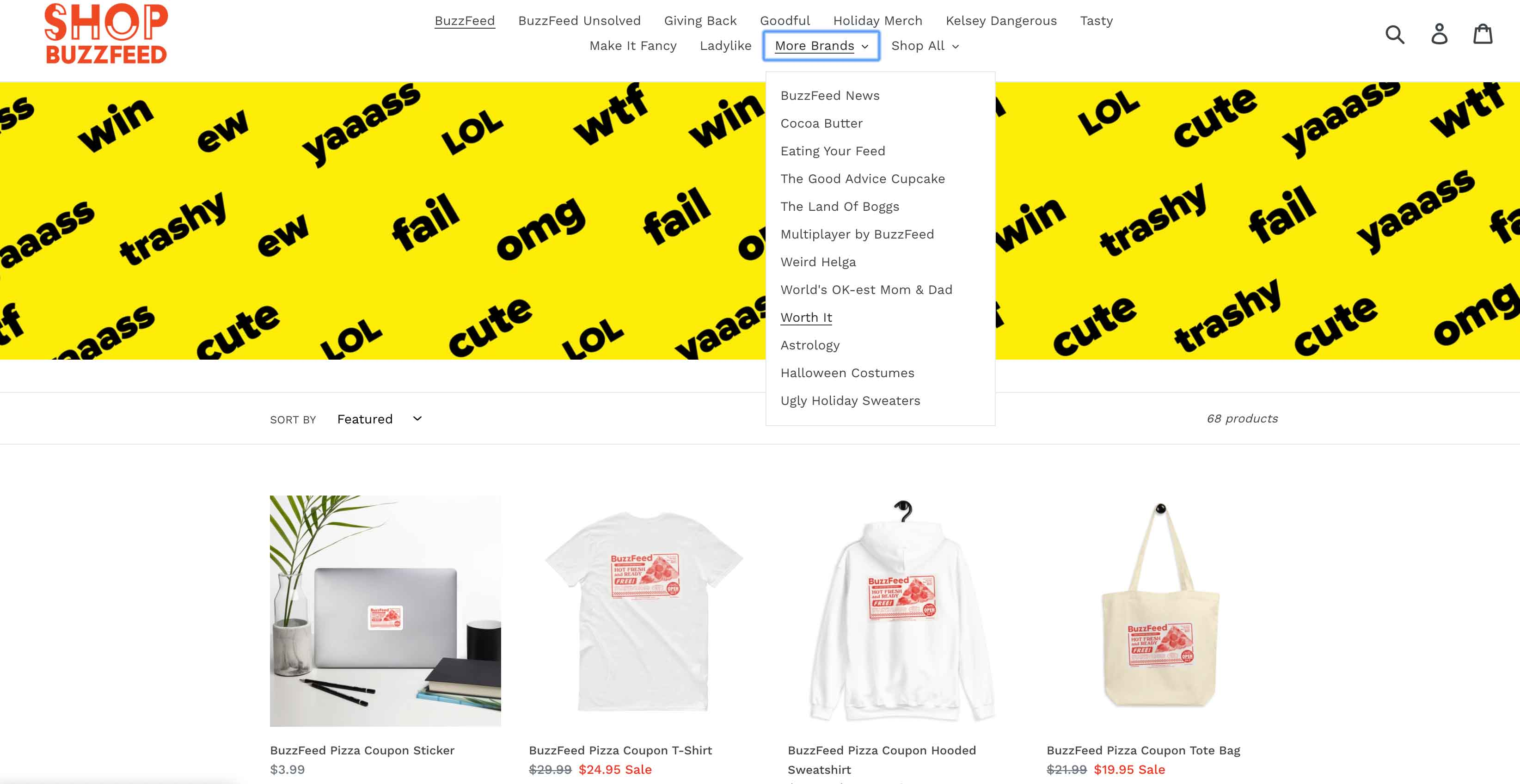 Digital Publishing Strategy: Buzzfeed has its own online shop