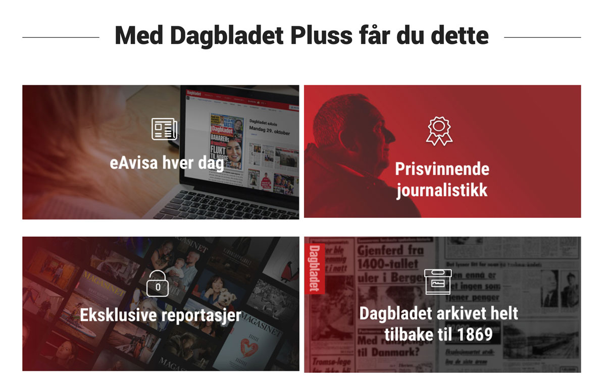 Dagbladet's personalised paywalls