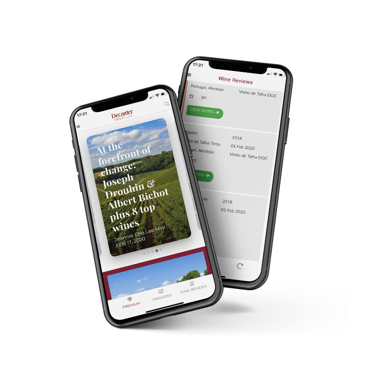 Decanter Premium App