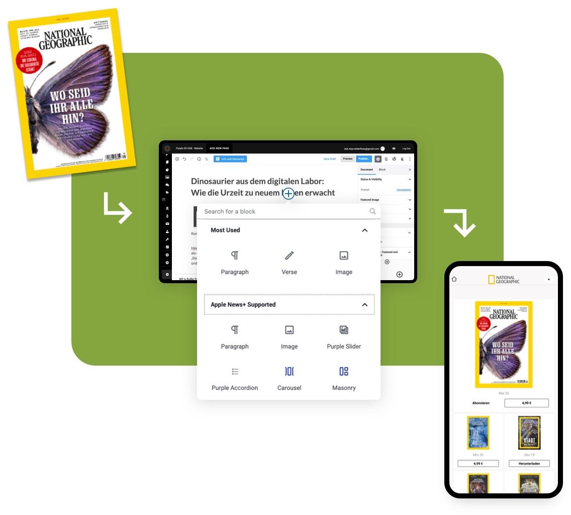 Digital Publishing Software: Effizienz Workflow Illustration