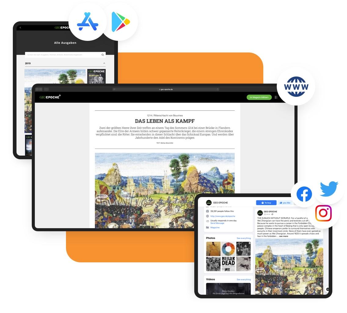 Digital Magazine: Multichannel Image