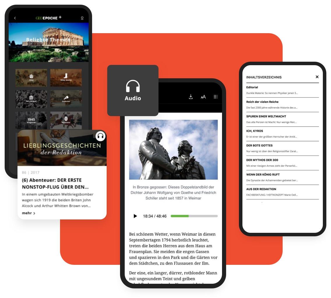 App Publishing: Interaktiver Content Image