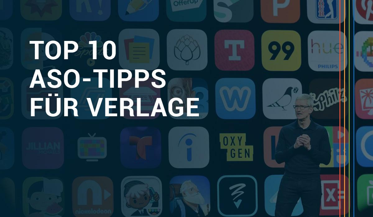 App-Store-Optimierung: 10 Tipps für Verlage Header