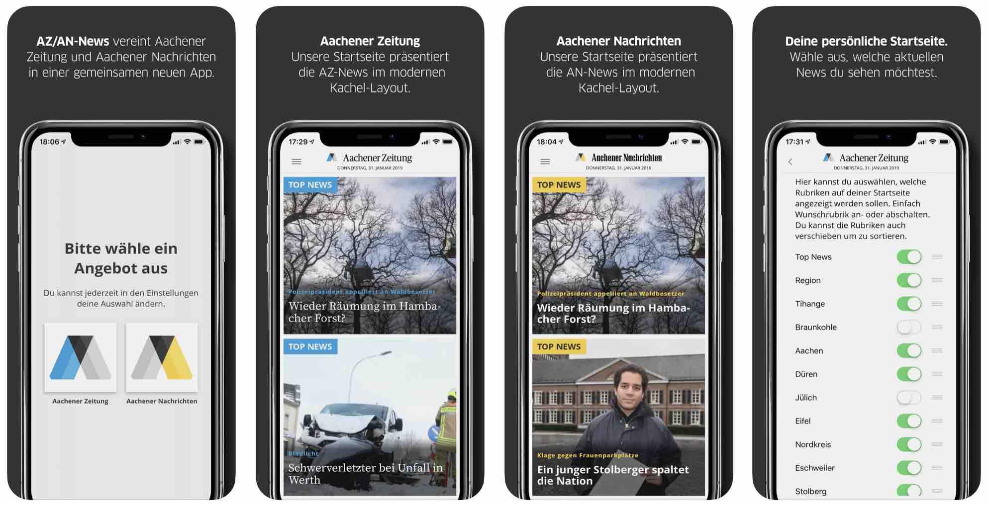 App als Kanal einer Multichannel Publishing Software Image