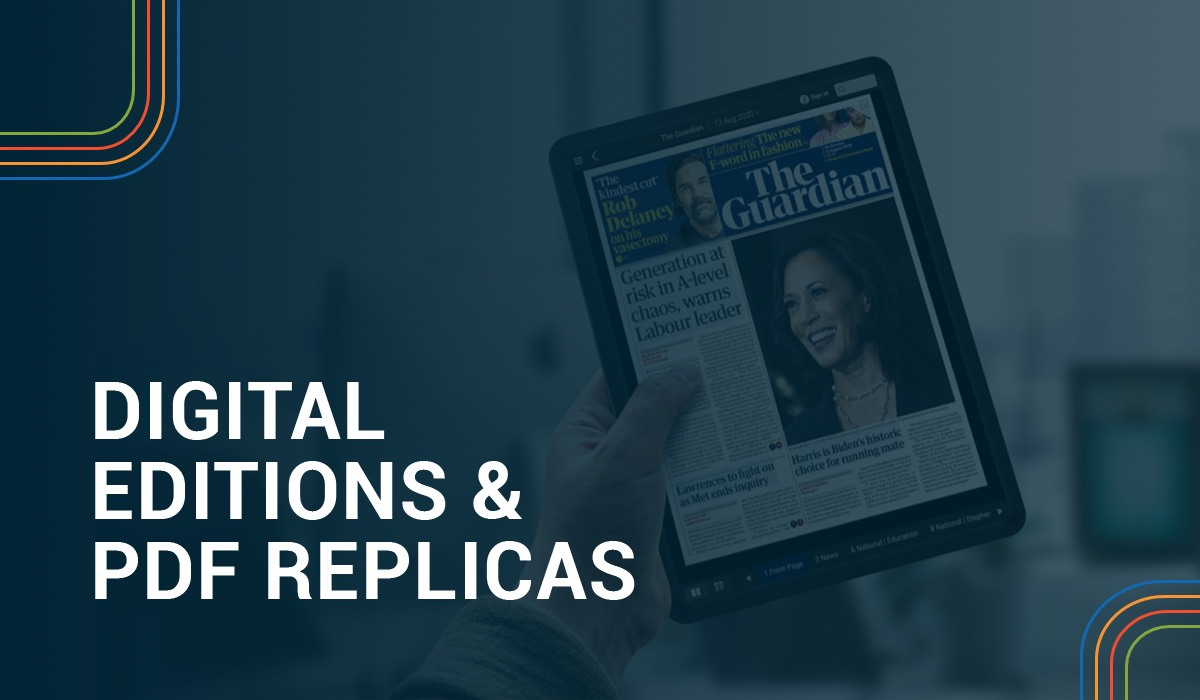 Digital Editions & PDF Replicas Hero Image
