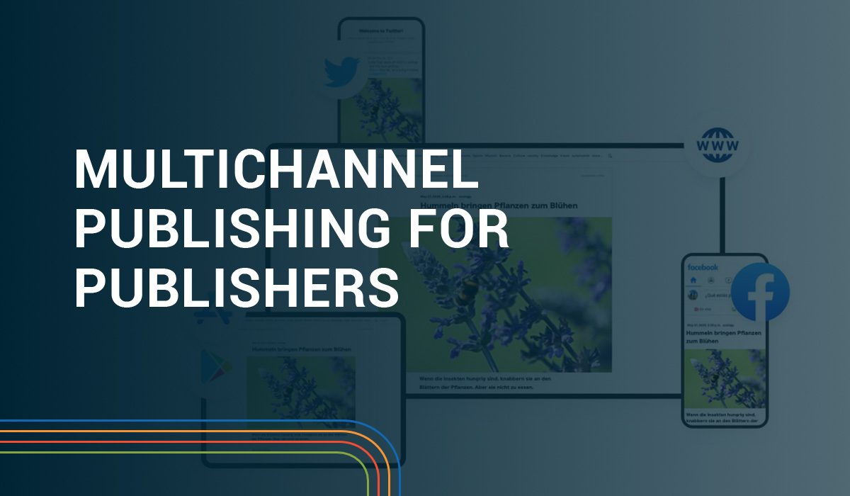 Multichannel Publishing for Publishers Header Image