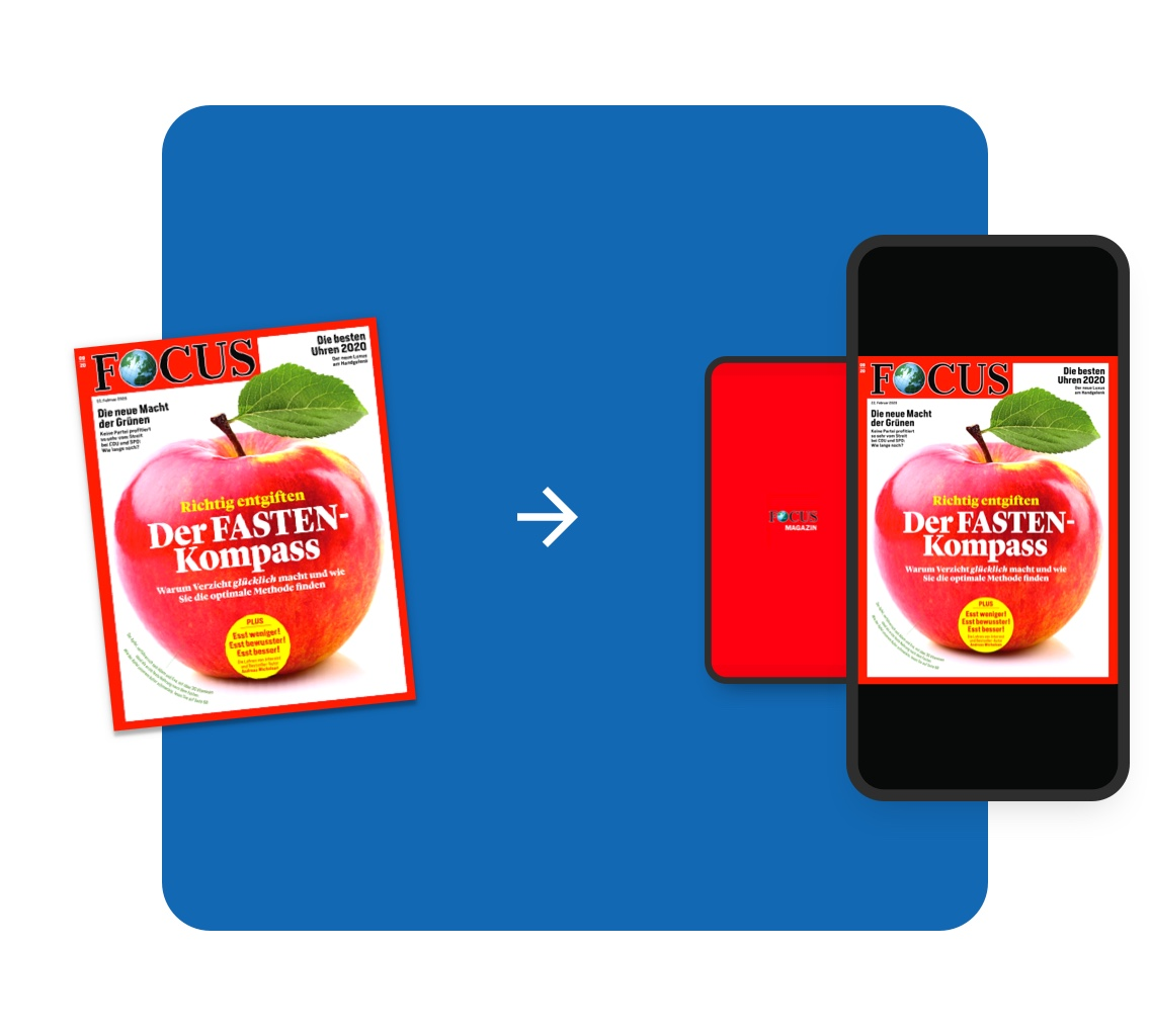 App Publishing Software kann Print Wiederverwendung Image