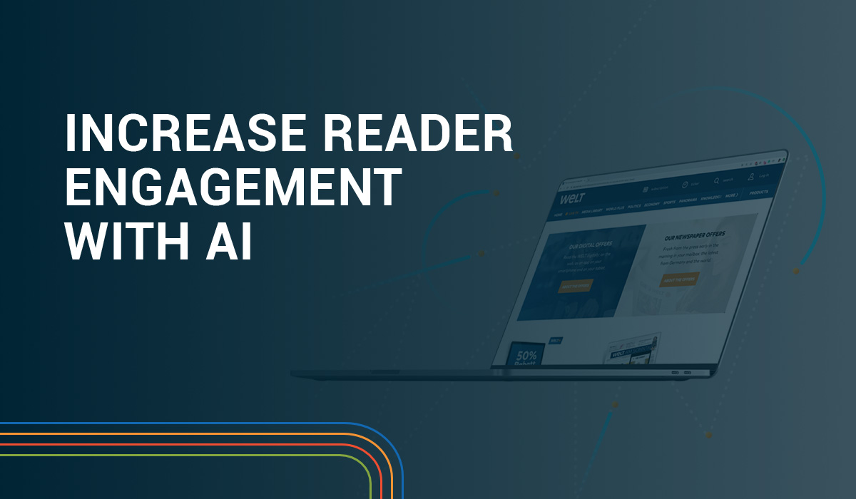 Increase Reader Engagement with AI Webinar