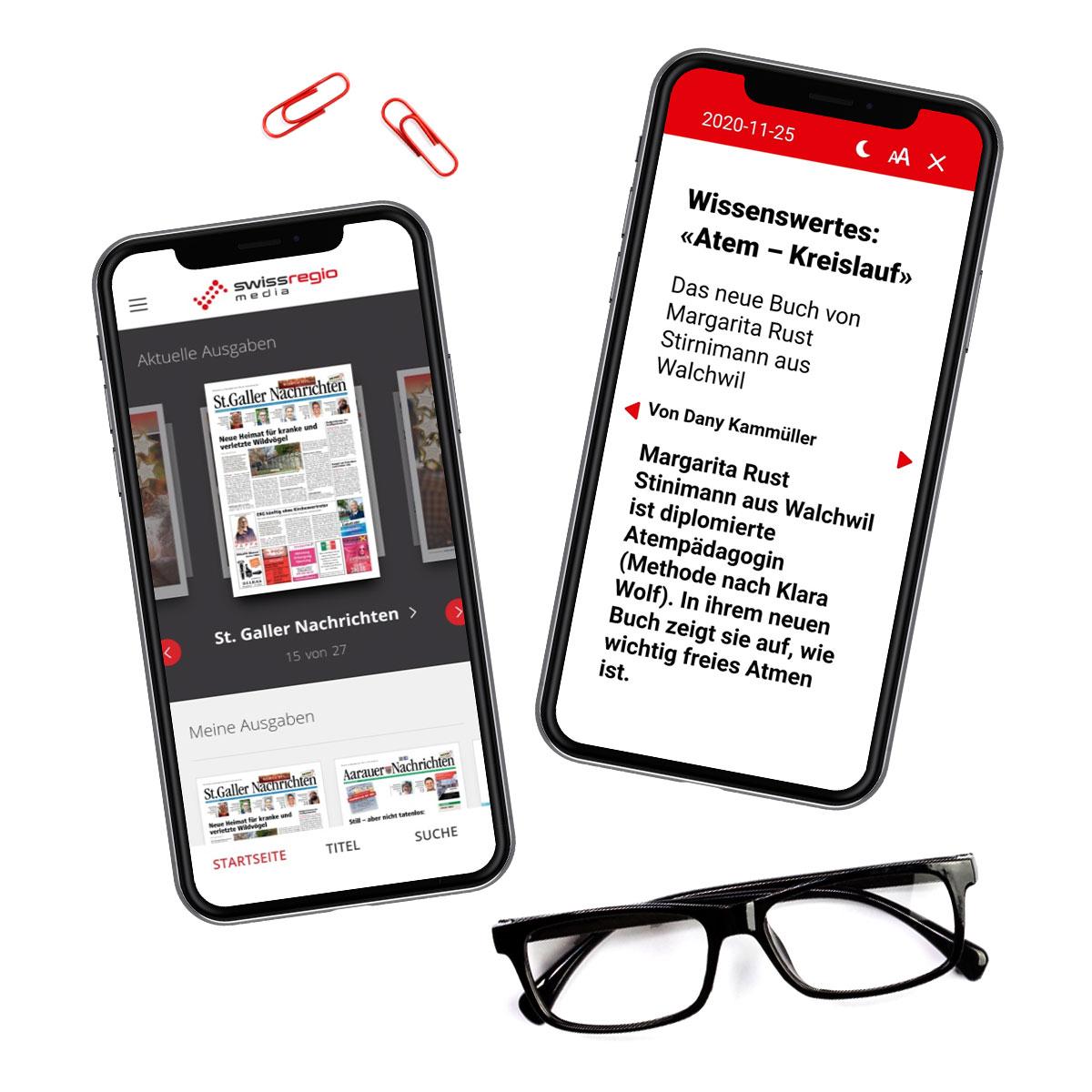 Swiss Regiomedia Case Study Header Image