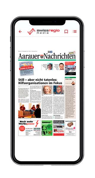Multi-Title-App Aarauer Nachrichten Screenshot