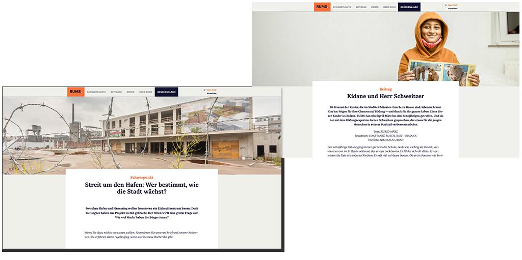 RUMS-Newsletter aus Münster