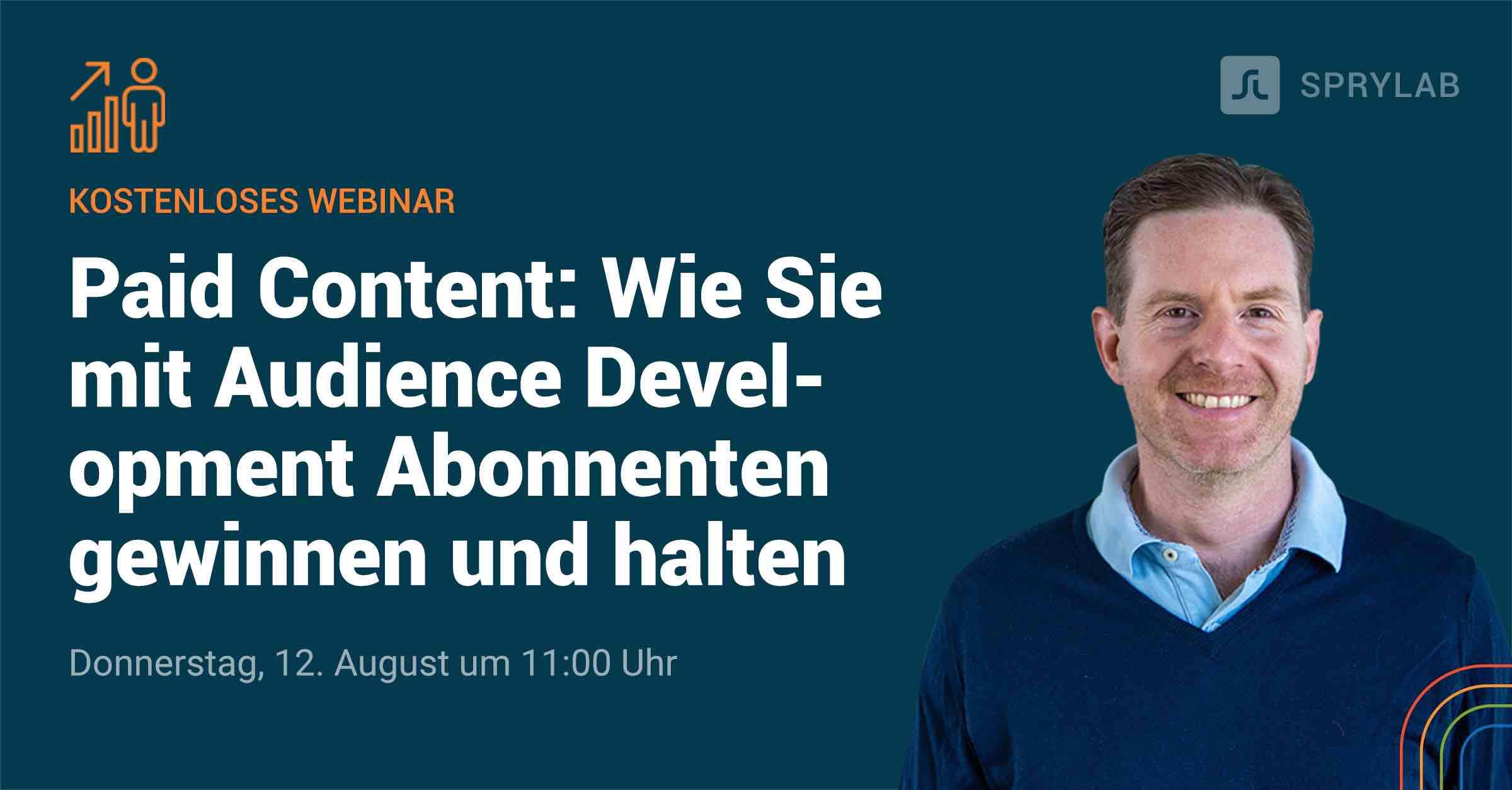 Audience Development Webinar Banner