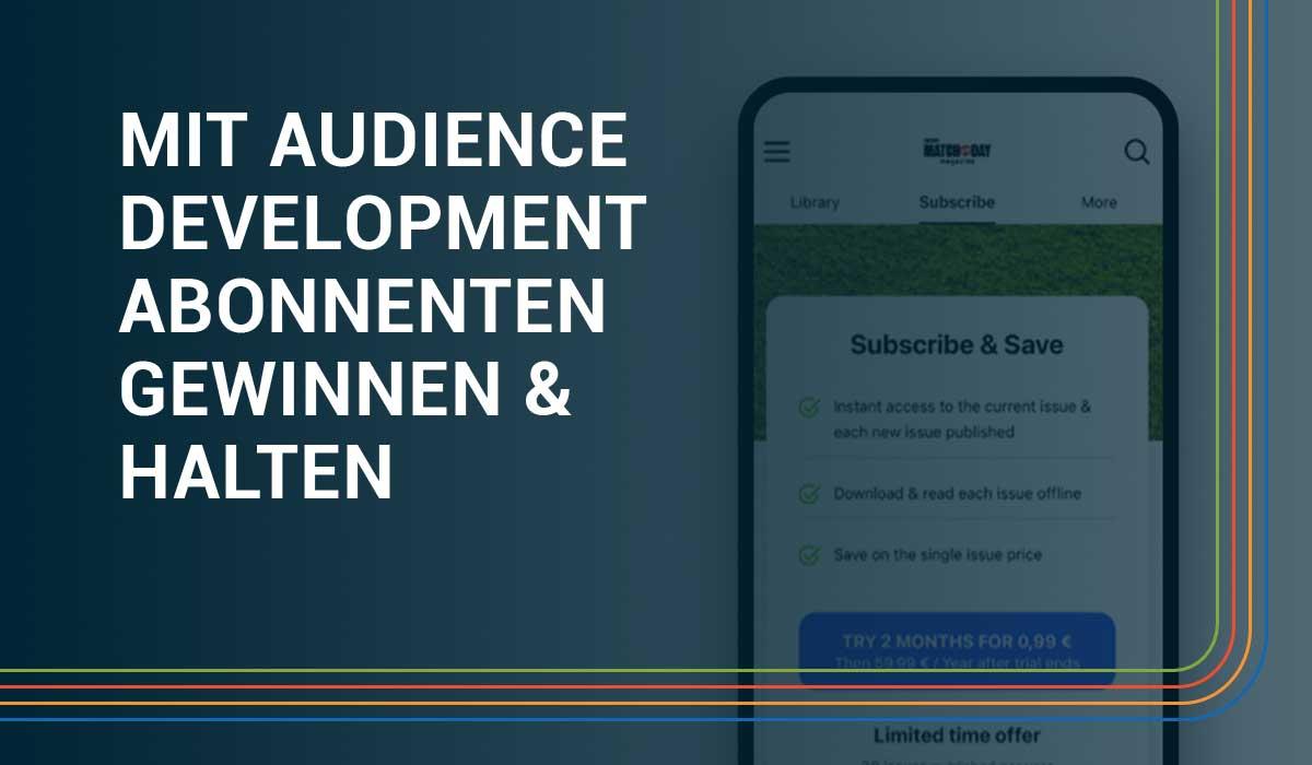 Paid Content Audience Development Webinar Banner