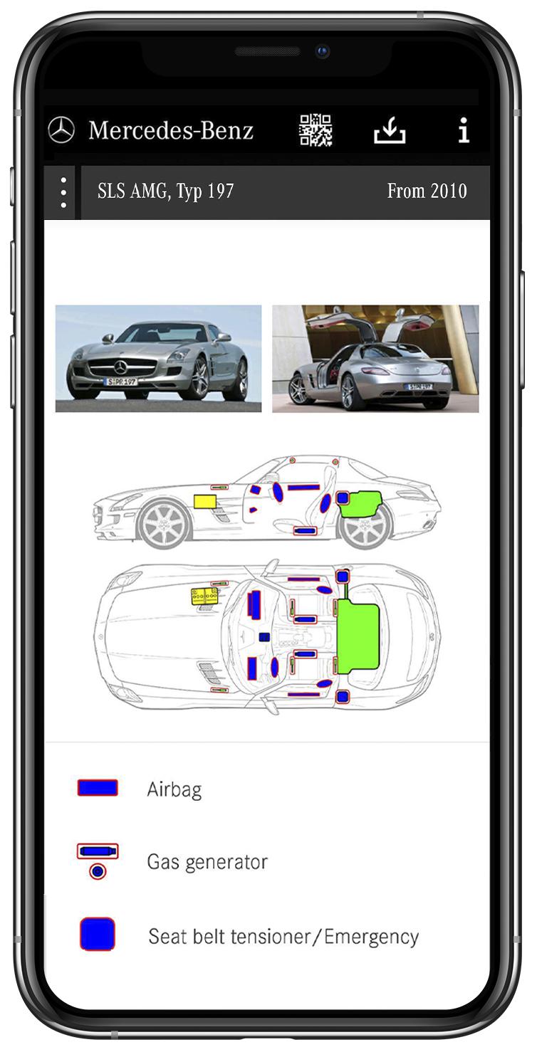 Mercedes Benz Rescue Assist App Auto Image