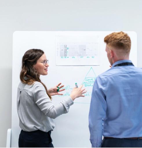 Innovation & Strategie Phase der Plattform Entwicklung