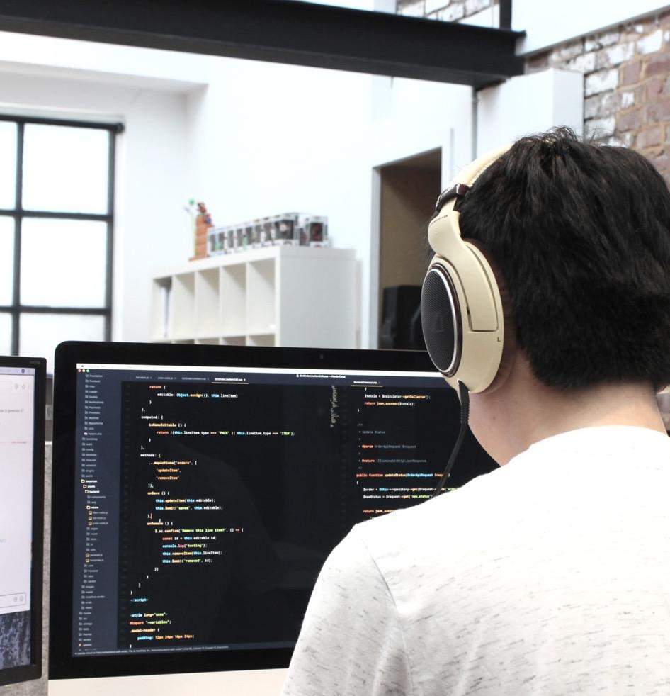 Agile Entwicklungs Phase der Plattform Entwicklung