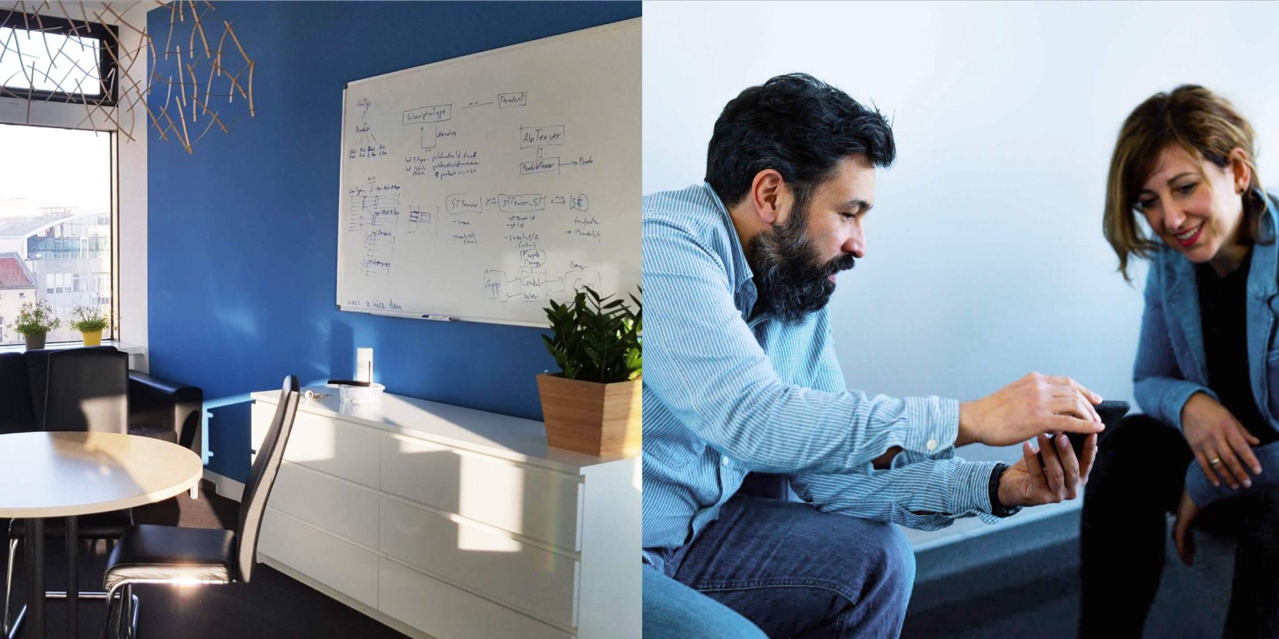 Büro von SPRYLAB für Plattform Entwicklung
