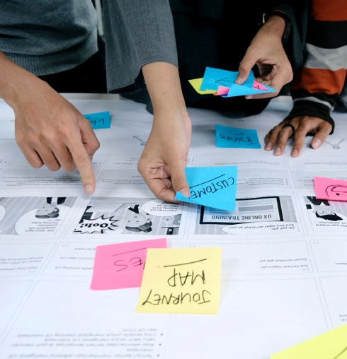 Konzept Phase der App Entwicklung mobile